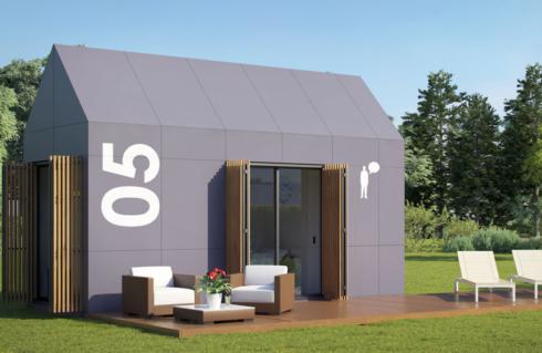 Viviendas modulares para trabajadores de hotel