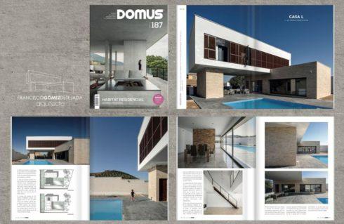 La Revista DOMUS publica nuestra Casa L