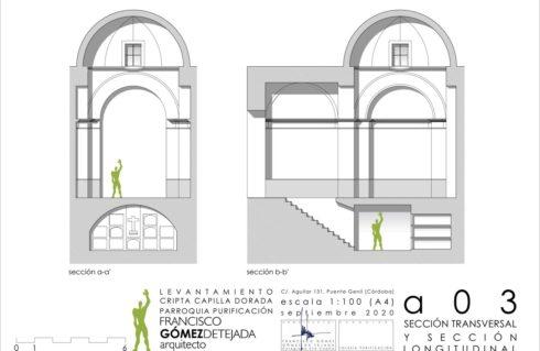 Abierta y documentada la Cripta de la Capilla Dorada de la Iglesia de la Purificación, después de 100 años.