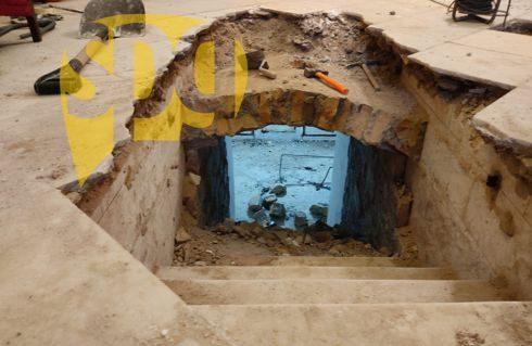 Abierta una cripta después de casi 100 años en la Purificación